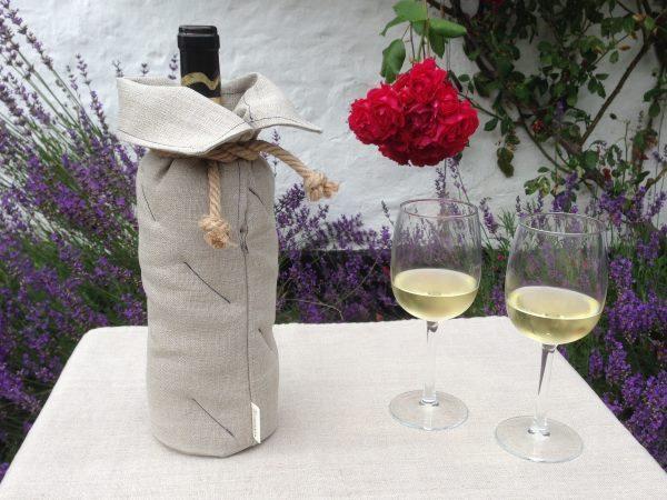 Bæredygtig vinkøler - set forfra