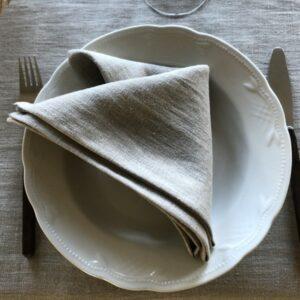 Hørserviet natur på tallerken